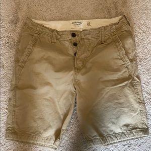 Men's button fly shorts
